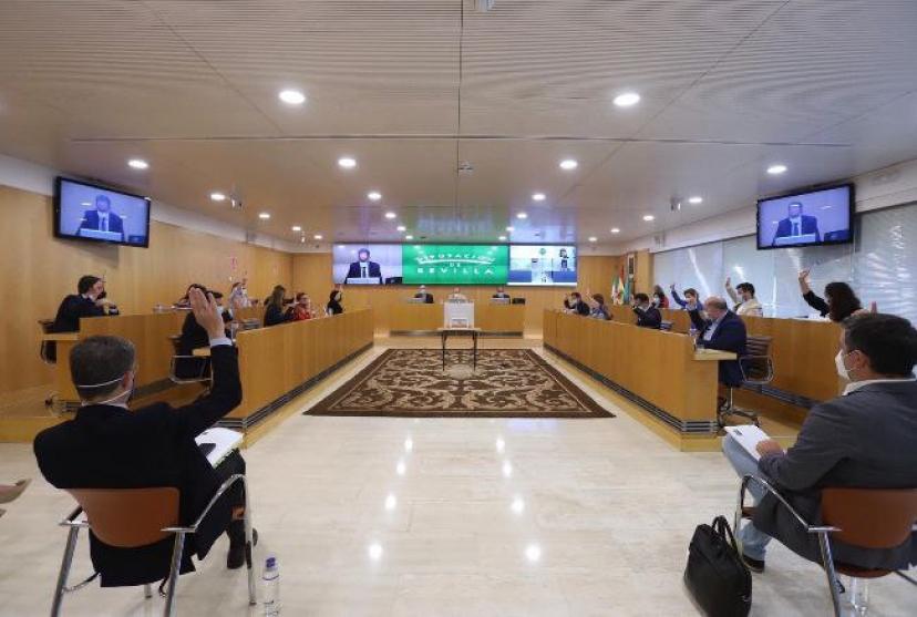 El pleno de Diputación de Sevilla aprueba nuestra moción sobre bajada de ratios en la escuela pública
