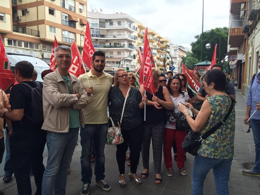 IU contra la represión sindical en la Clínica Santa Isabel