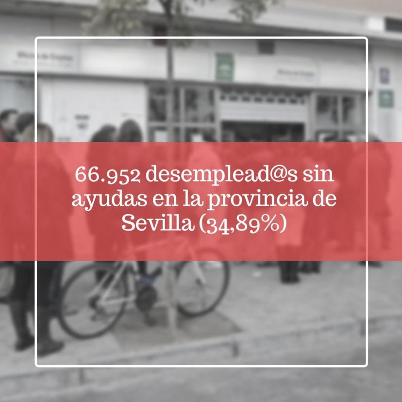 El número de contratos firmados baja en Sevilla