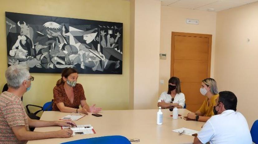 Manuel Lay, María Izquierdo, Mª José Suárez, Teresa Melgar y Juan José Ortega