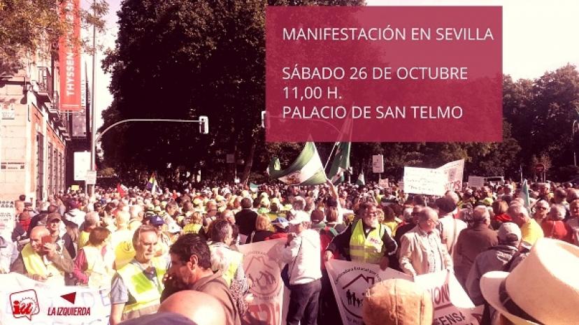 26-O: Manifestación en defensa de lo público y los derechos sociales y laborales