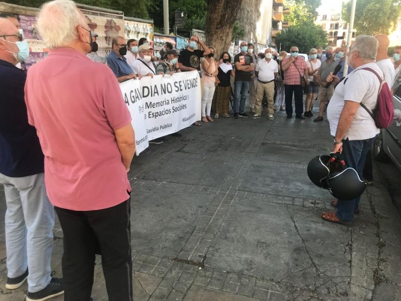 Miércoles 23 a las 19,30 h.: Movilización de la Plataforma por una Gavidia Pública contra la privatización de la antigua comisaría de policía
