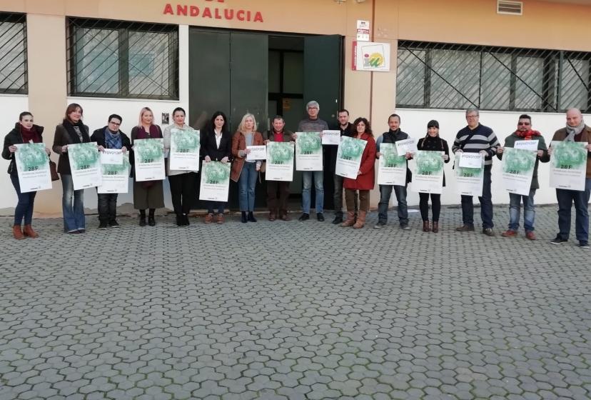 IU Sevilla llama a la movilización el 28F a quiénes no estén dispuestos a resignarse frente a la pérdida de derechos
