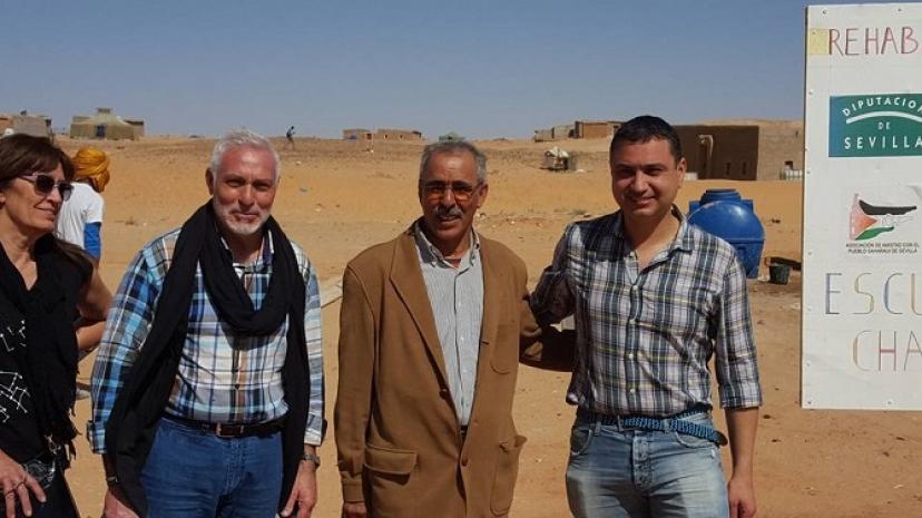 Crónica de Fernando Soriano, alcalde de Bollullos de la Mitación, desde los campamentos saharauis de Tinduf