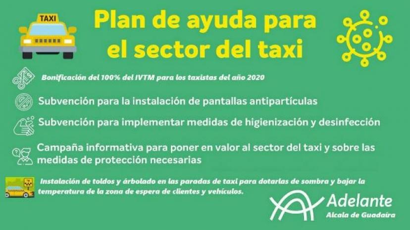 Alcalá de Guadaíra: Nuestro grupo propone un Plan de Ayudas al sector del taxi en el municipio