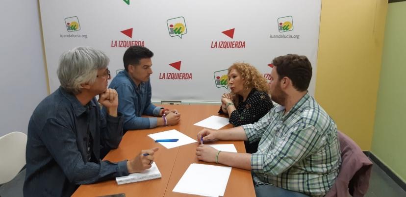 Reunión IU Sevilla e Izquierda Andalucista para avanzar en el camino de la confluencia
