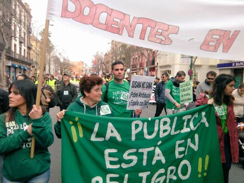 Sobran razones para la huelga general educativa del 9M. Artículo de Fran García Parejo, Coordinador IULV-CA Dos Hermanas
