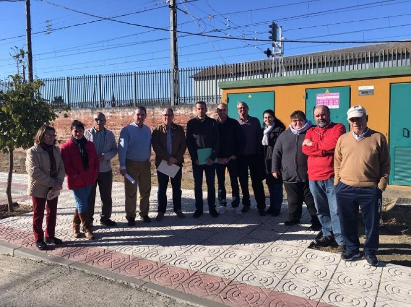 Lora del Río: Miguel Ángel Bustamante pregunta en el Congreso por el paso subterráneo de Hytasa