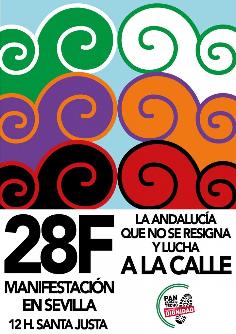 Carta de Antonio Maíllo: El 28F, Izquierda Unida como siempre en la calle