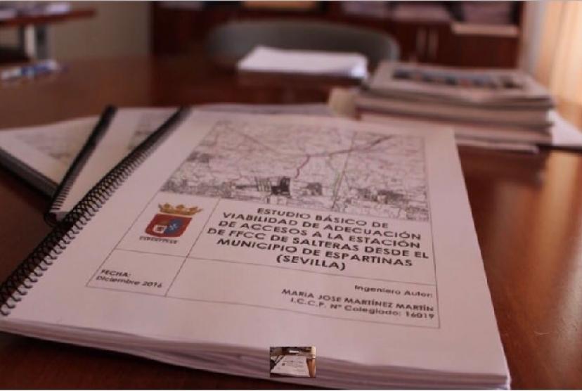 Espartinas: El Gobierno municipal pretende ocupar el Corredor Verde del Aljarafe para acceder a una estación del tren de cercanías