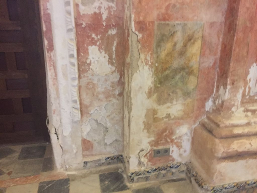 Continúa el desinterés de la Junta y Ayuntamiento por el Monasterio San Isidoro del Campo
