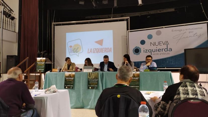 Se amplía en la Campiña hasta cinco nuevas rutas de transporte a demanda interurbano por taxis a petición de IU y NIVA en la comarca