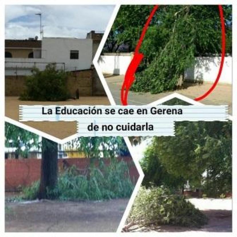 La Educación se cae en Gerena