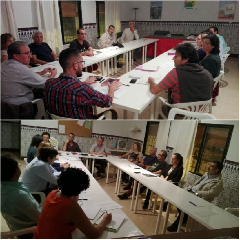 Reunión de la Mancomunidad La Vega en San José de la Rinconada