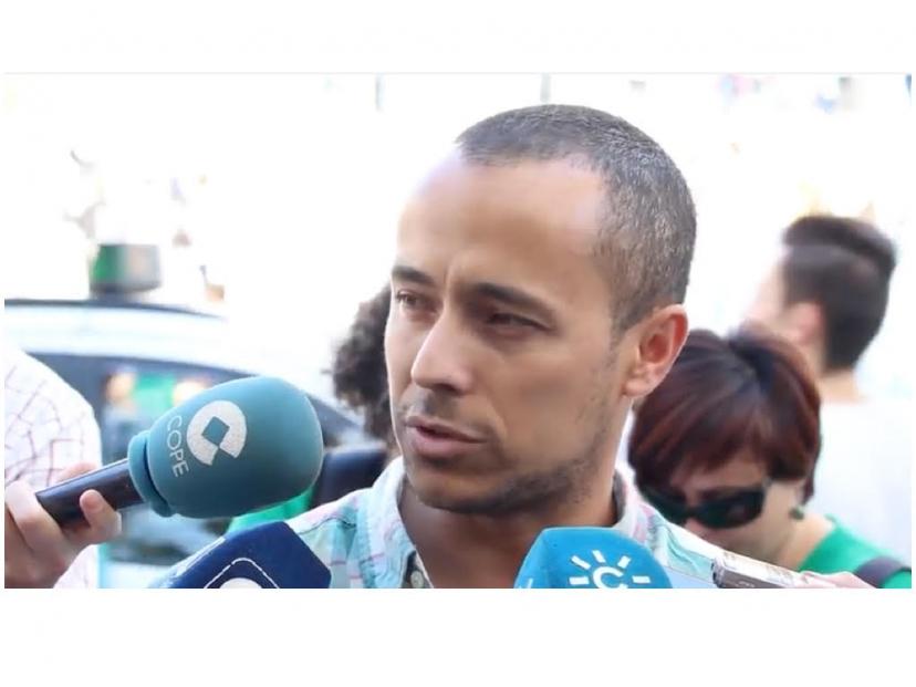 Fran Martínez, coordinador andaluz del Área de Educación