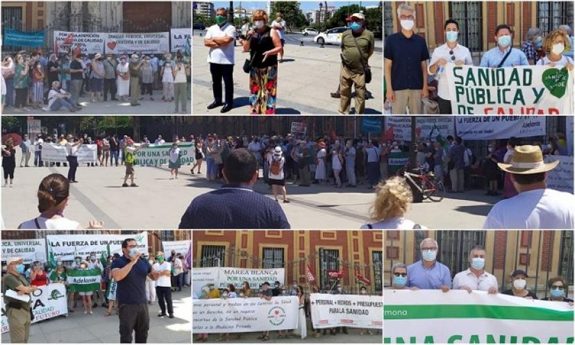 Participamos en la movilización en defensa de la Atención Primaria de Salud