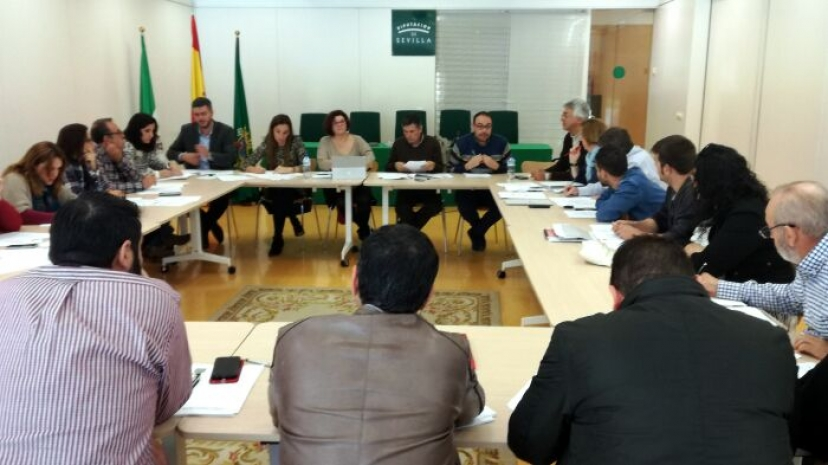 Reunión en Diputación para analizar el Consorcio de Bomberos