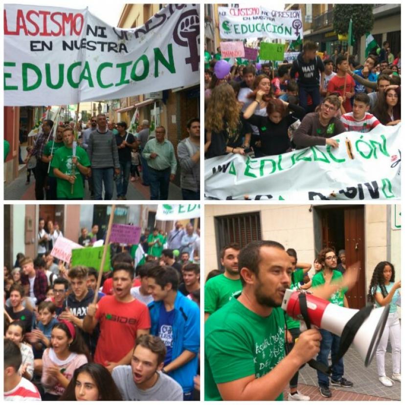 Dos Hermanas anticipa el éxito de la Huelga Educativa del #26O