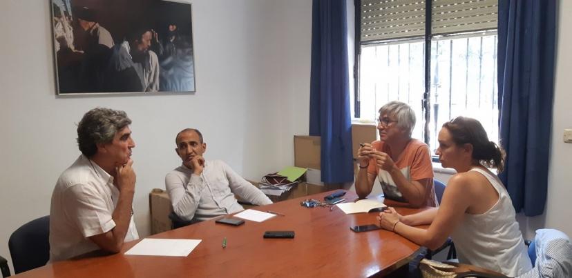 Reunión con la Asociación de Amigos del Pueblo Saharaui de Sevilla