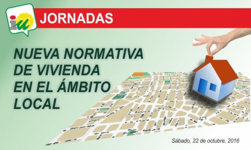 Jornadas sobre nueva normativa de vivienda en el ámbito municipal