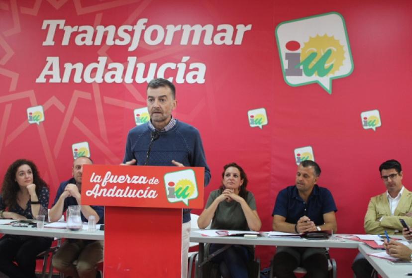 Antonio Maíllo en el Foro de Alcaldías de IU Andalucía