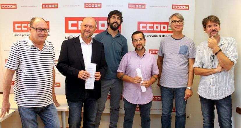 Encuentro con CCOO de Sevilla para exigir al Gobierno inversión en la provincia y acabar con la discriminación territorial continuada