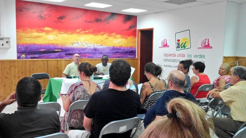 IU Sevilla inicia una campaña en la comarca del Aljarafe para exigir la puesta en marcha de un Equipo de Emergencia Terrestre (061)