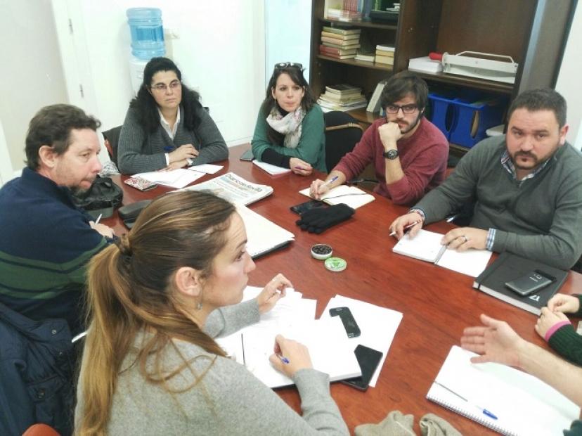 Se reúne la comisión IU-Podemos para reivindicar mejoras en los cercanías de Renfe