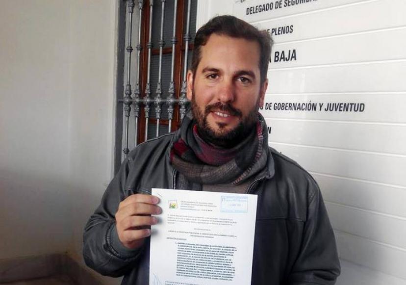 IU Sanlúcar la Mayor presenta propuestas sobre convivencia ciudadana