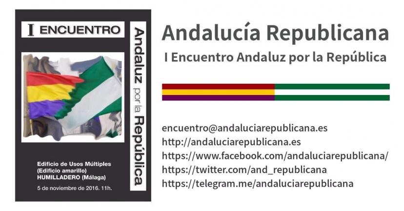 Primer Encuentro Andaluz por la República