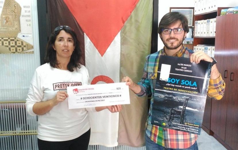 IU Carmona colabora con 'Vacaciones en Paz'