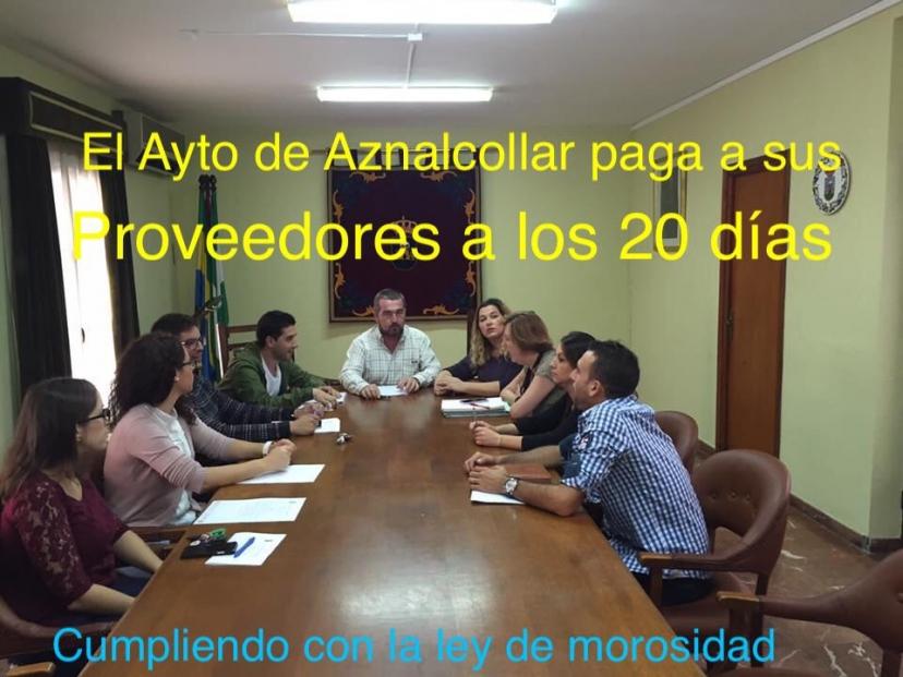 Aznalcóllar: El ayuntamiento paga a sus proveedores/as en 20 días