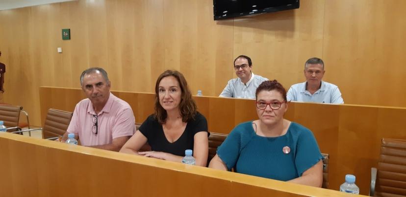 Moción para que la Diputación ponga en marcha un Plan Urgente de arreglo de caminos en pueblos afectados por el temporal de la Sierra Sur