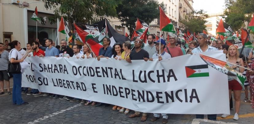 Marcha por la Paz 2018. Todo nuestro apoyo y solidaridad con el pueblo saharaui.