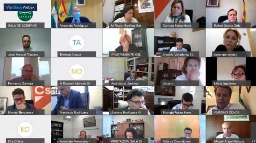 Pleno de Diputación: Se aprueba nuestra proposición para instar al Gobierno de la Junta de Andalucía a crear de manera urgente el Fondo Andaluz de Reconstrucción Local por un valor de 550 millones