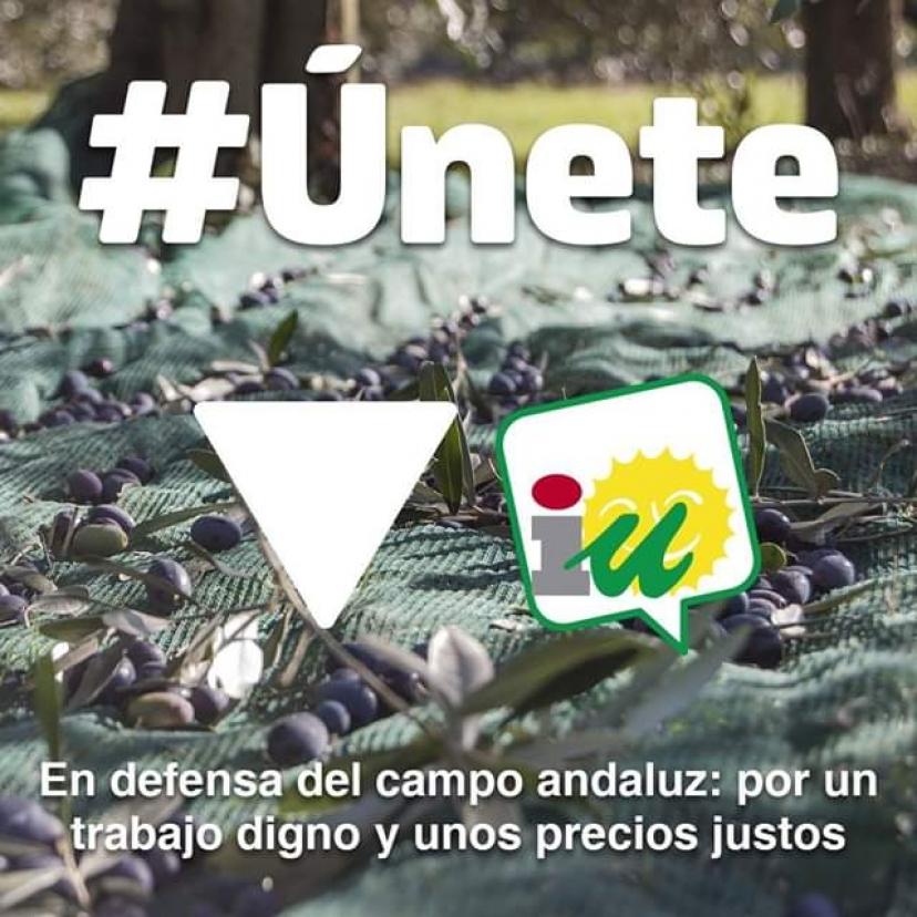 IU Sevilla apoya las movilizaciones de trabajadoras y trabajadores del sector agrícola convocadas en varios puntos de la provincia