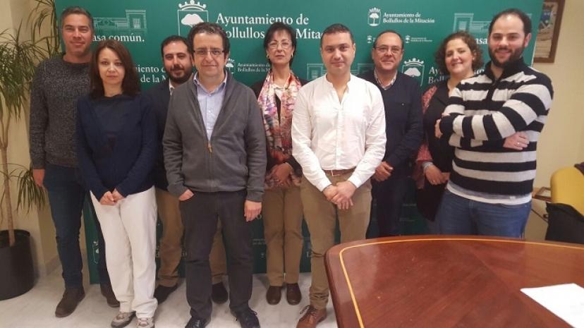 Bollullos de la Mitación: Gobierno municipal y representantes de los/las trabajadores/as firman la vuelta a las 35 horas