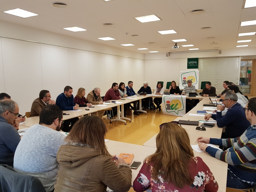 El Foro de Alcaldías de IU Sevilla analiza los problemas de los municipios sevillanos