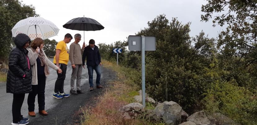 IU demanda el arreglo urgente de las carreteras de conexión de Castilblanco de los Arroyos con Sevilla y las localidades colindantes.