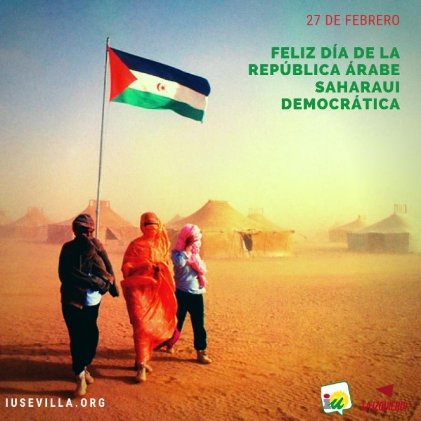 Resolución de la XXIV Asamblea Provincial de Izquierda Unida en apoyo al pueblo saharaui en la situación actual de conflicto bélico
