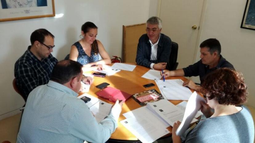 Reunión en Diputación de Sevilla
