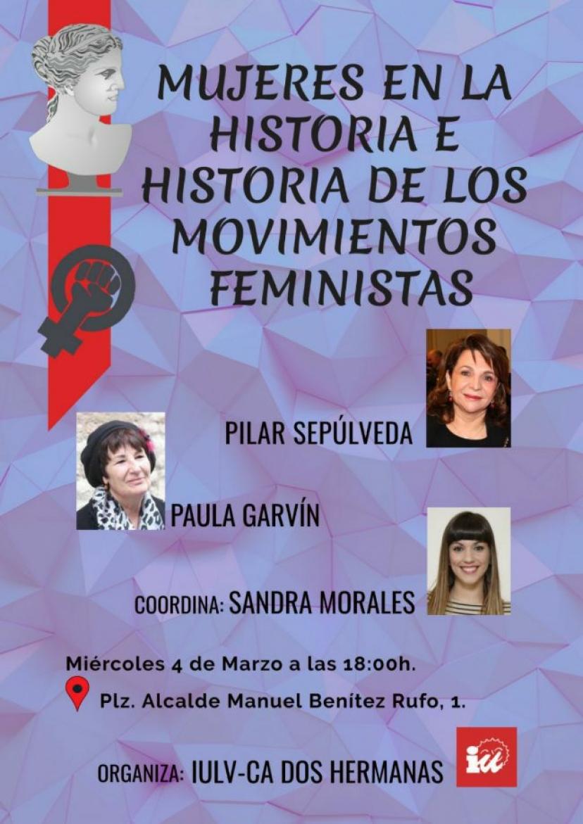 """Conferencia: """"Las mujeres en la Historia e historia de los Movimientos Feministas"""""""