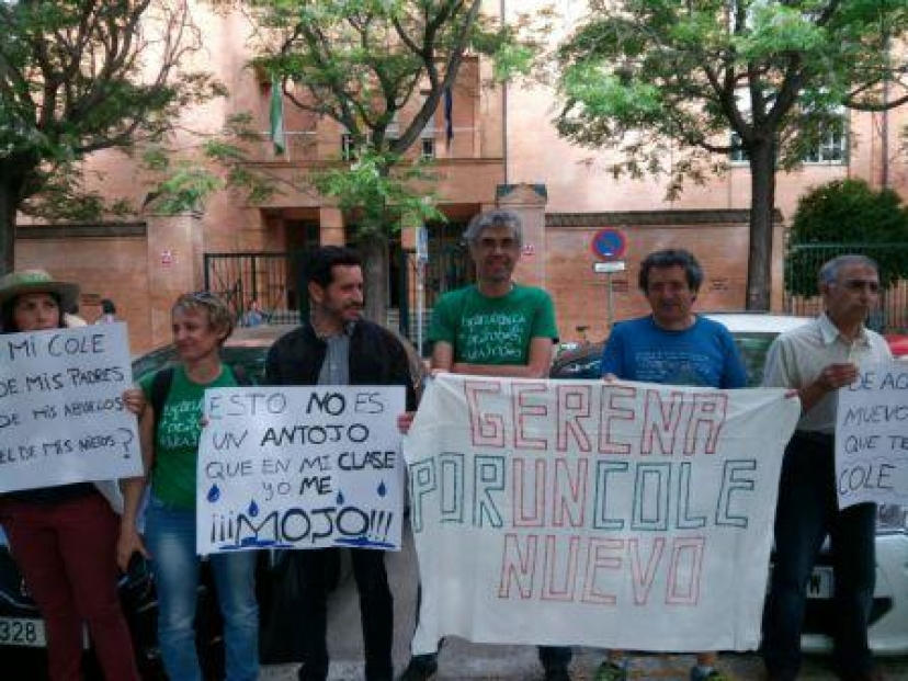 Gerena: 7.000 firmas en demanda de un nuevo colegio