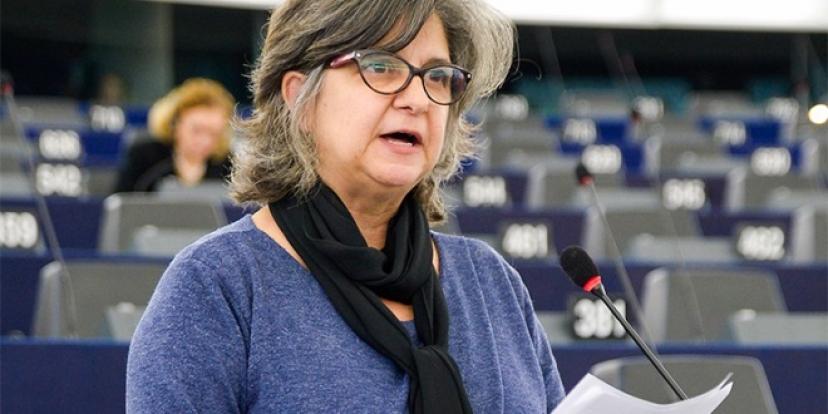 IU denuncia en el Parlamento Europeo la situación de las mujeres jornaleras de Osuna