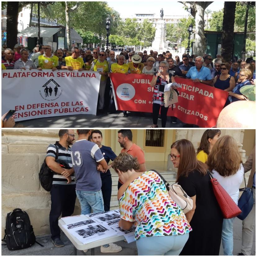 Las y los trabajadores de El Correo de Andalucía se movilizan contra el cierre del periódico